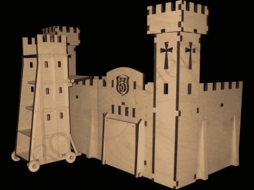 Belagerungsturm Modell 1