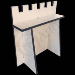 Burgmauer Modell 1