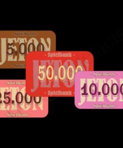 Jeton A (Spiel- und Pokerchips)