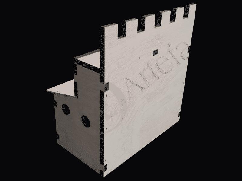 Stallung Modell 1
