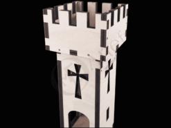 Burgturm Modell 1